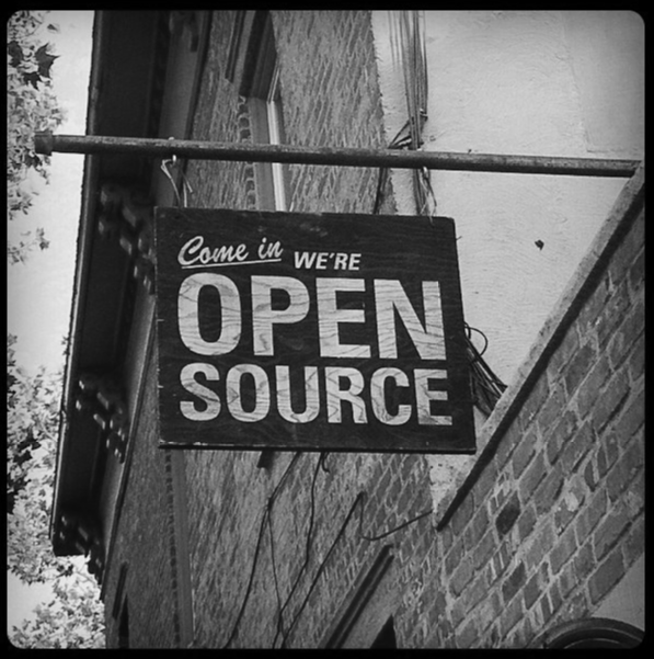 Come in we're Open Source